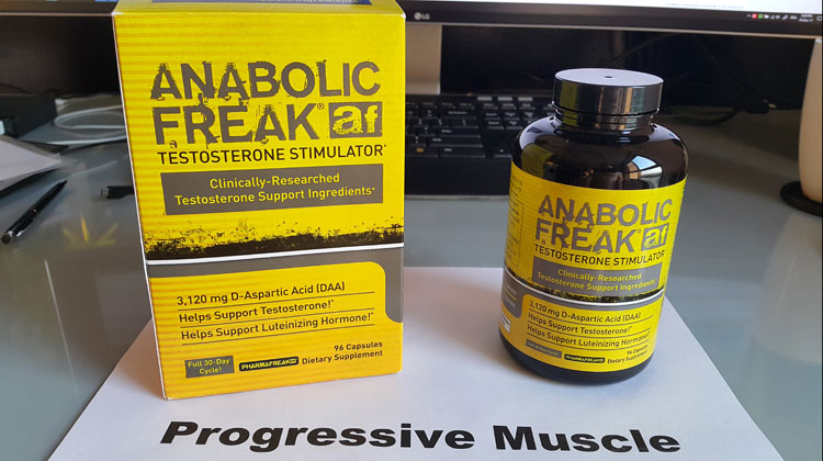 Anabolic Freak Review Does It Really Work Ingredients