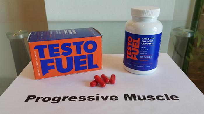 TestoFuel red capsules