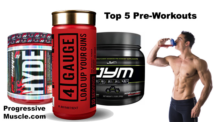 Best Pre Workout Supplements Updated 2018 Top 5 List