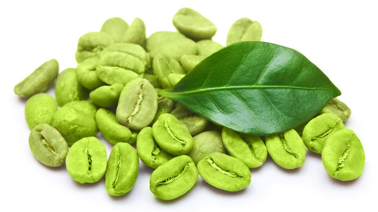 Green coffee bean
