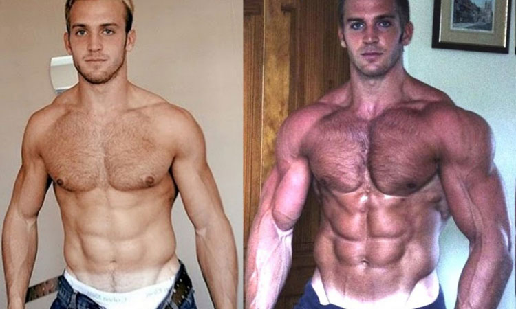 Testosterone booster transformation