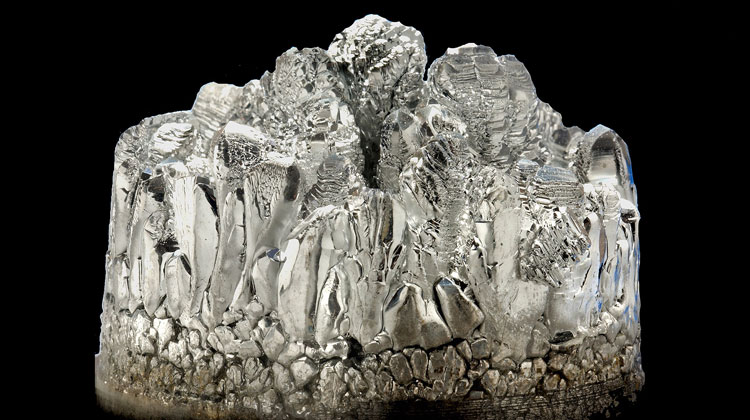 Crystalised magnesium