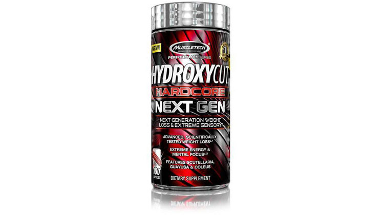 Hydroxycut Hardcore Next Gen - Best Fat Burner #4