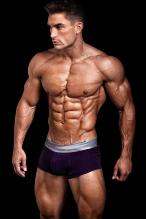 Ripped Male Model