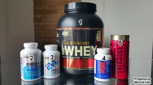 My Natural Bodybuilding Supplement Stack